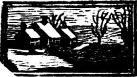wood-engraving of Houses 1